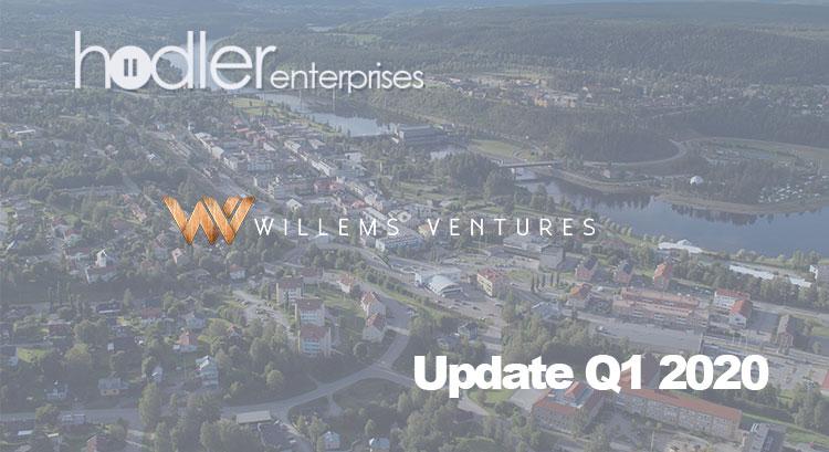 Update (0.5) Q1 2020 – Hodler Enterprises & Willems Ventures