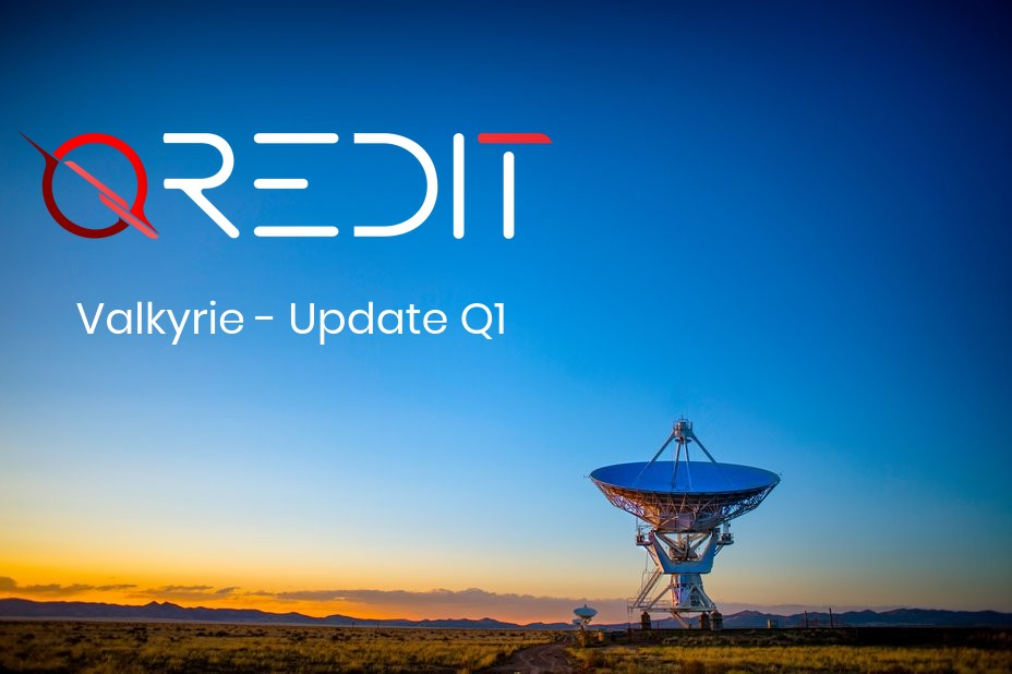 Qredit Valkyrie | Q1 Update